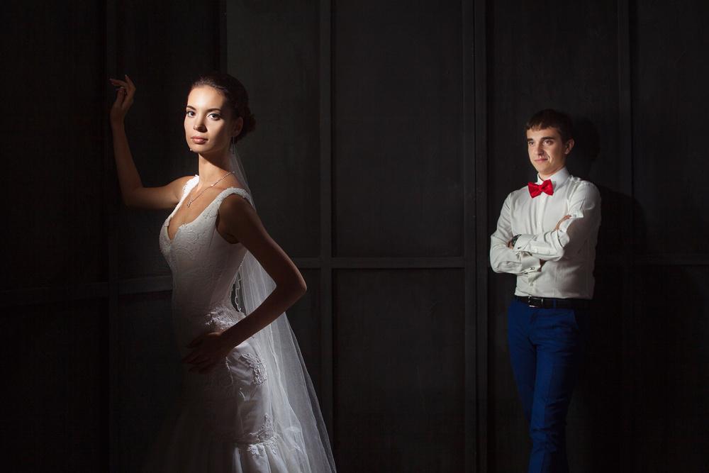 Свадьба в студии