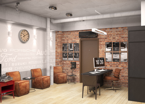 LOFT OFFICE IN SIBERIA