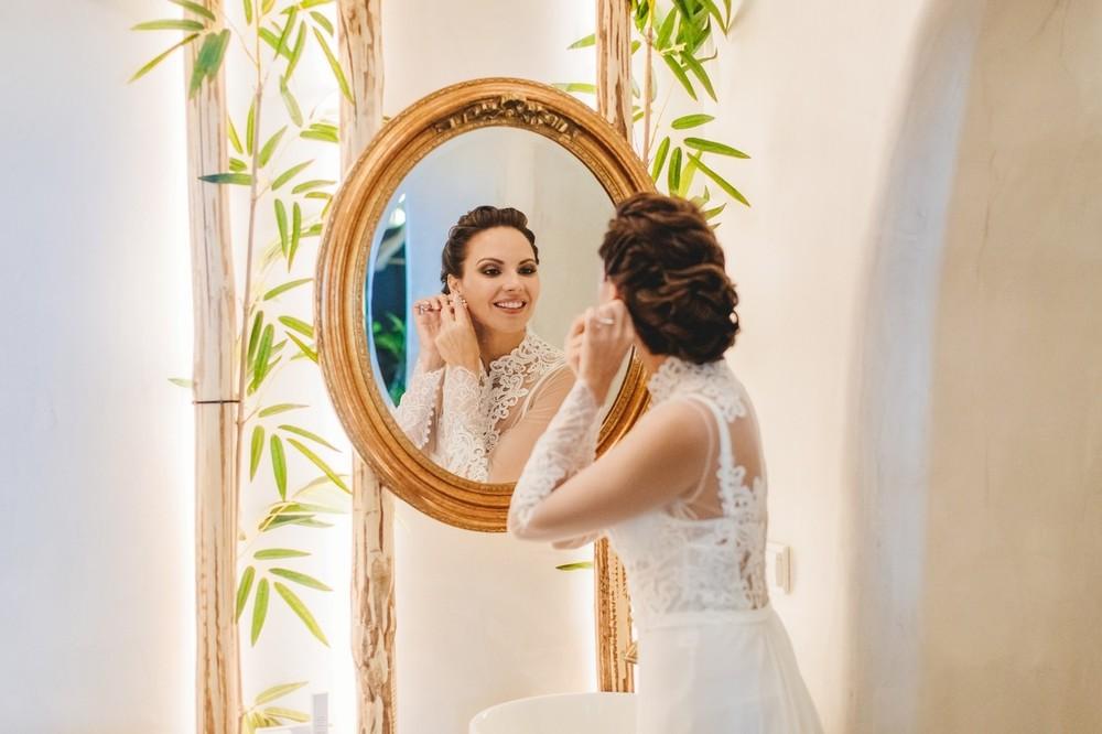 свадьба на санторини, сборы невесты, athina luxury suites