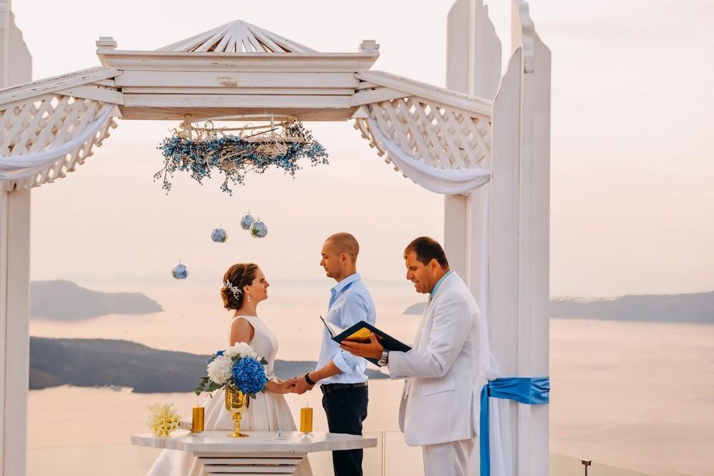 свадьба на санторини, suites of the gods