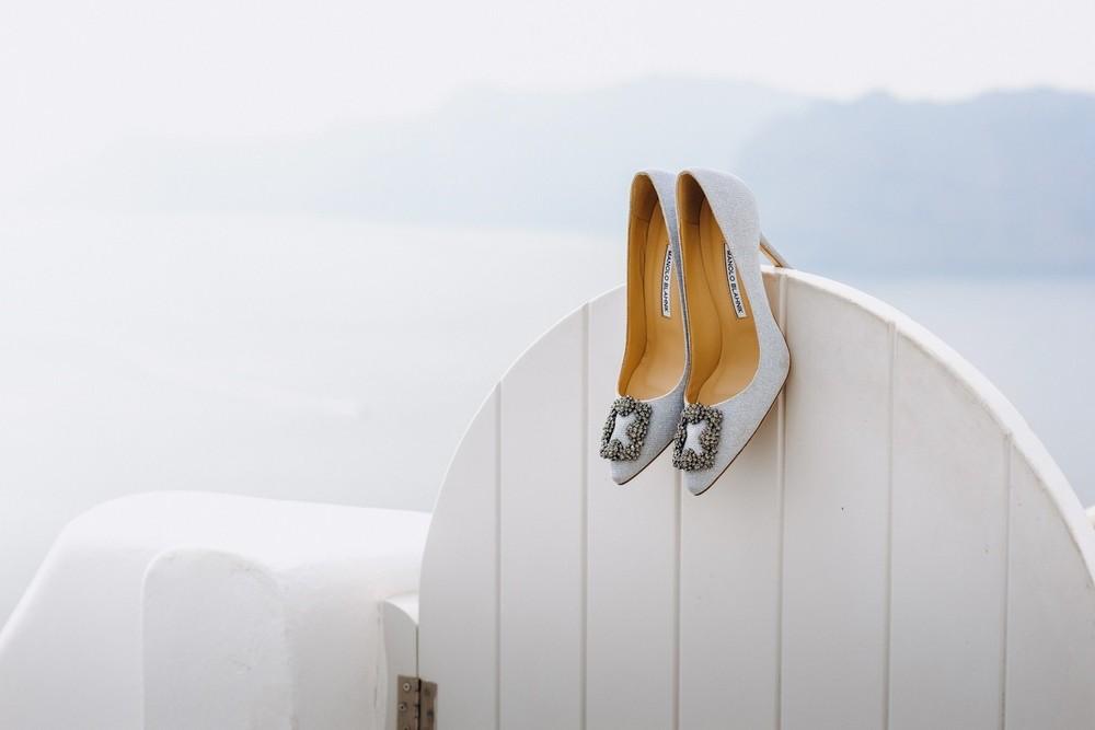 утро невесты санторини