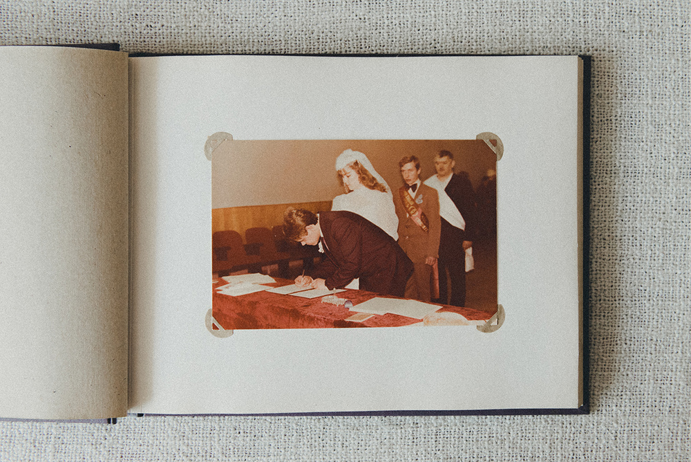 Свадебный альбом моих Родителей
