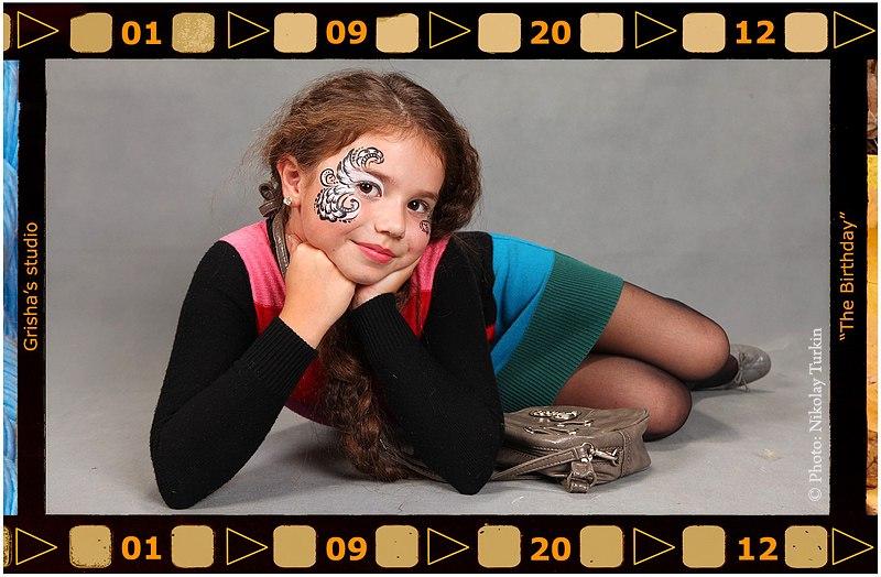 Детская выездная фотостудия