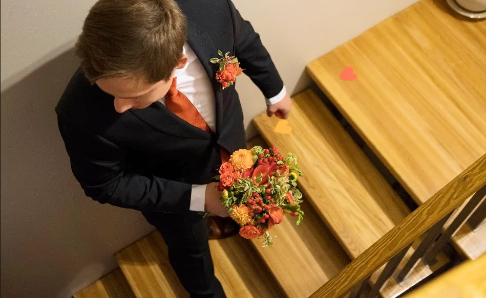 Sügisene pulm Oru hotellis. Осенняя свадьба в отеле Ору.