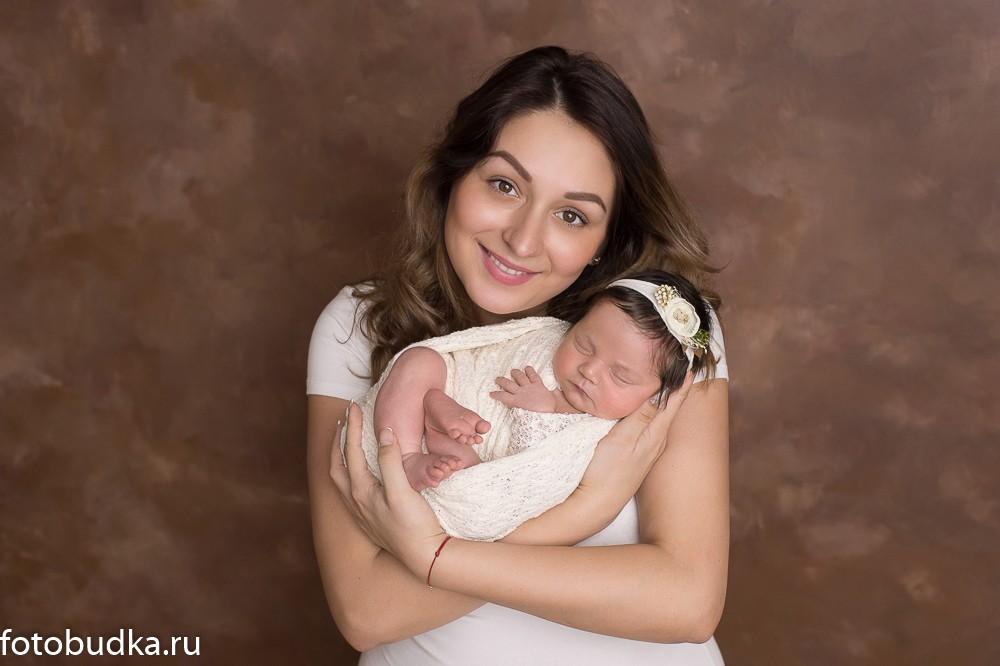 фотосъемка новорожденного красиво
