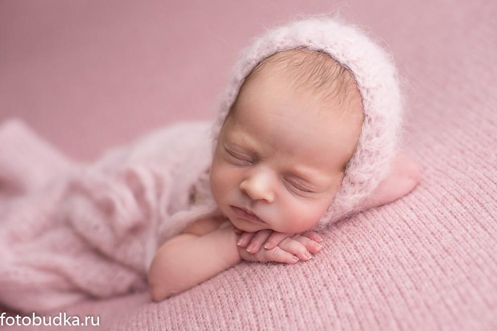 фотограф новорожденных девочек