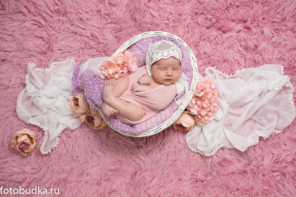 фото новорожденных девочек