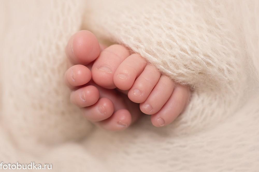 фотосъемка малышей крупный план