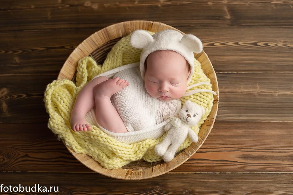 фотограф новорожденных мальчиков