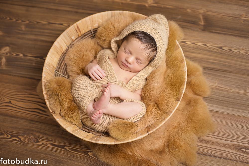 Фотограф малышей в Москве: фотосессия Сережи