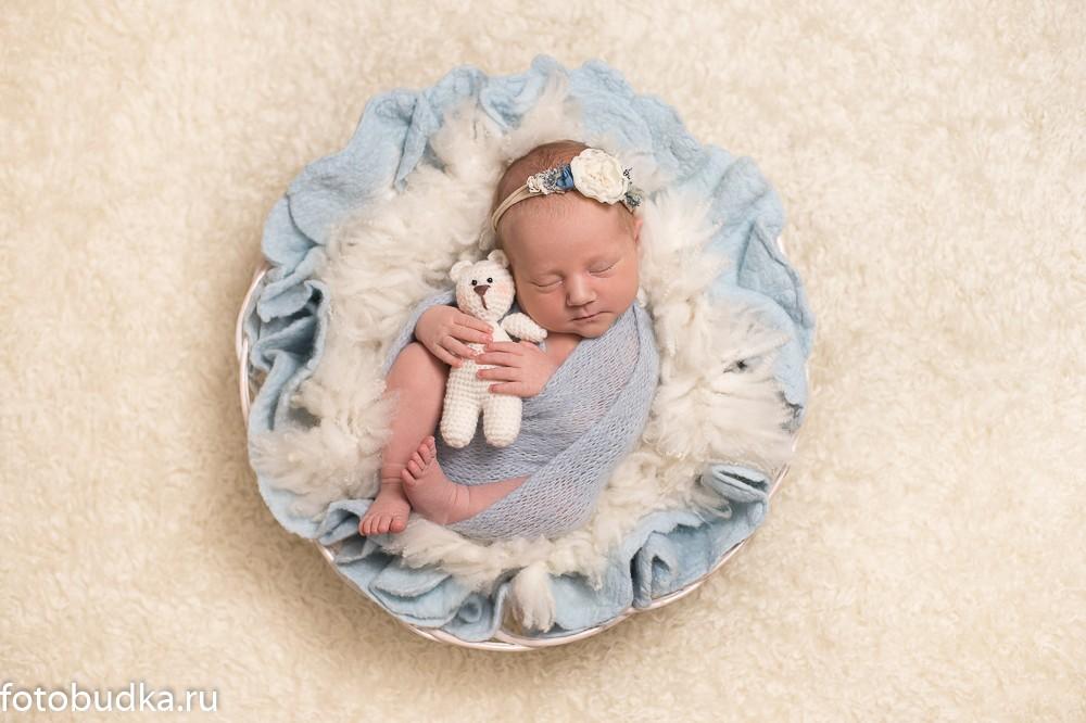 фотосъемка малышей дома