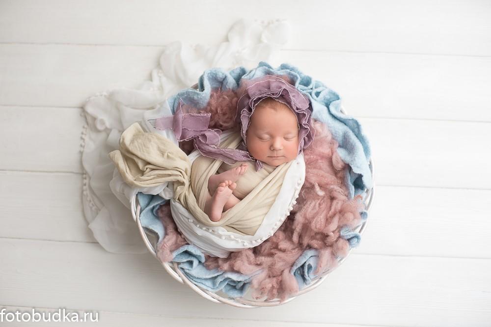 фотосъемка грудничков, фотограф новорожденных