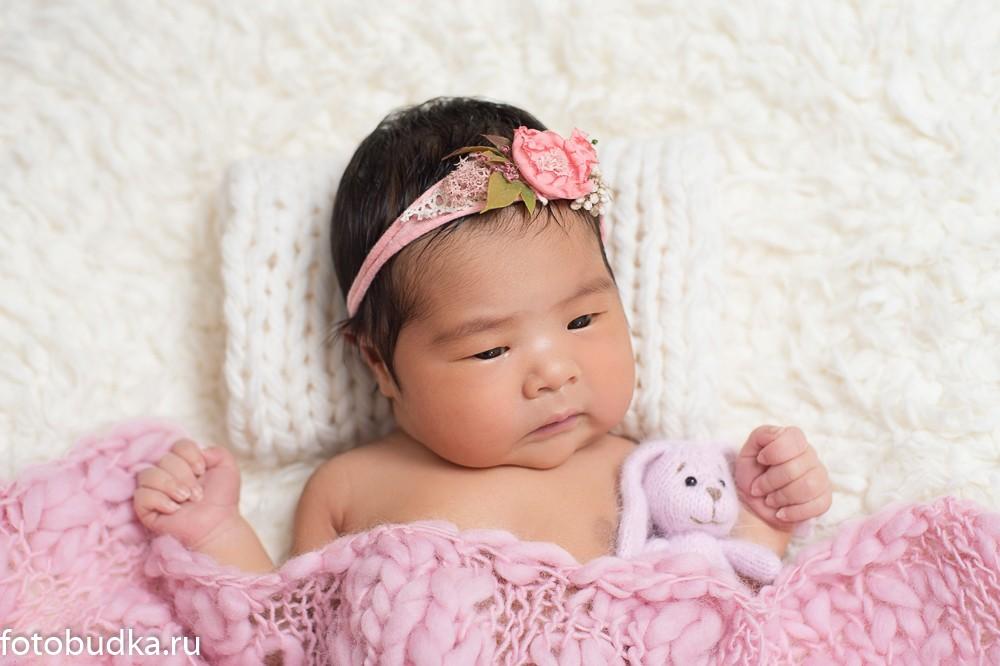 фотографии новорожденных серии