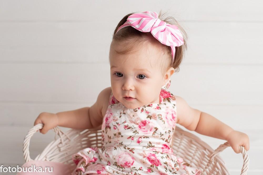 фотосессия с ребенком 6 месяцев