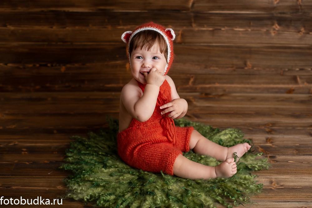 фотосессия детей 7 месяцев