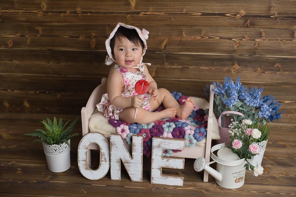 фотосессия на годик ребенку