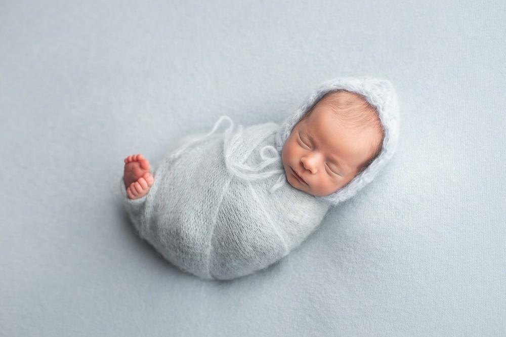 фотосессия новорожденных дома