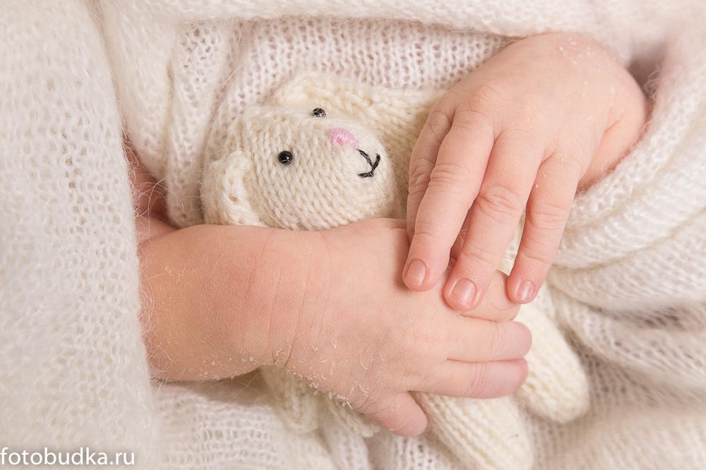 новорожденный ребенок фотосессия