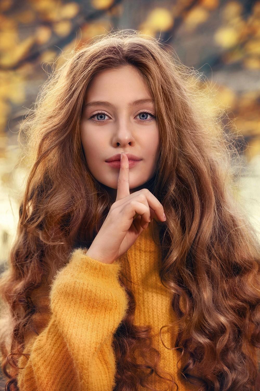 Девочка-осень