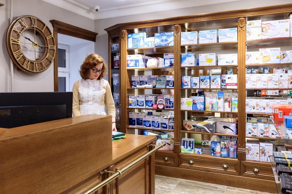 XIX век, Историческая аптека