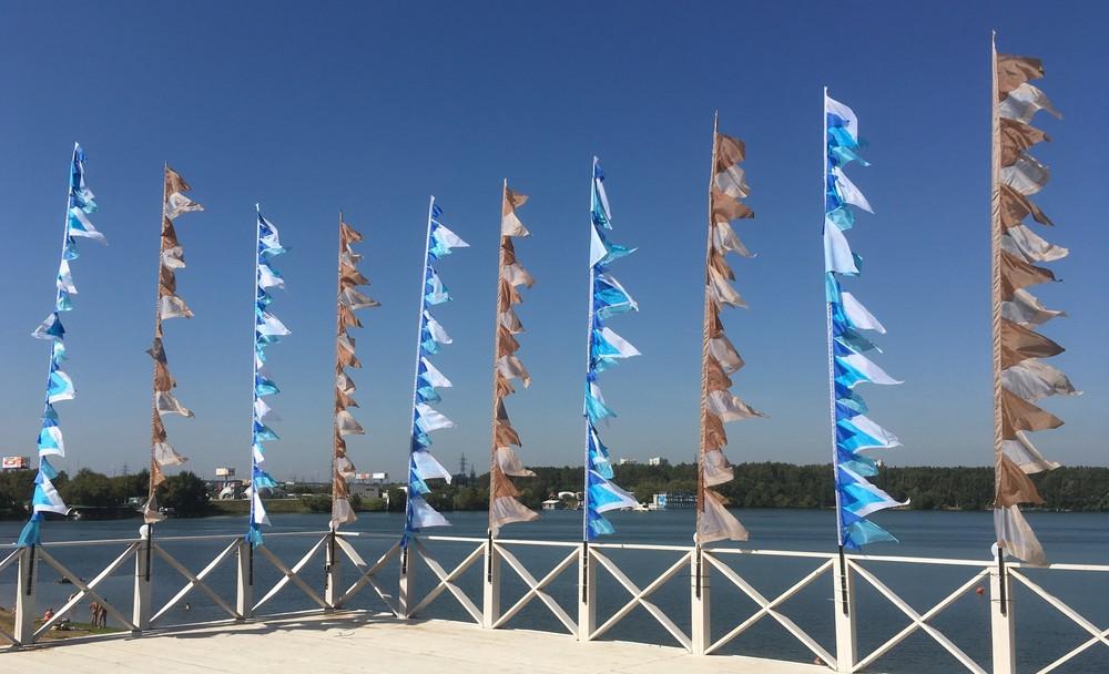 треугольные флаги для свадьбы