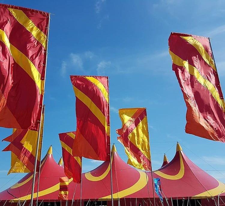 фестивальные флаги 8 метров