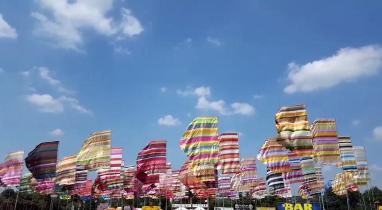 флаги для фестиваля фестдизайн фестивальные флаги
