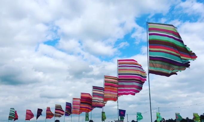 фестивальные флаги 6 метров