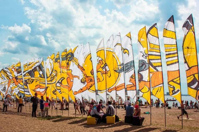 флаги для соревнований аренда флагов панно