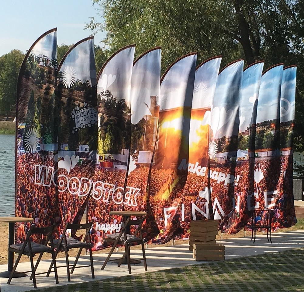 инсталляции из флагов флаговые конструкции