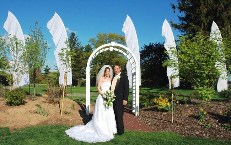 свадебные флаги