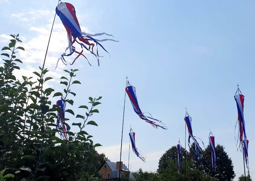 ветряные декорации для фестиваля