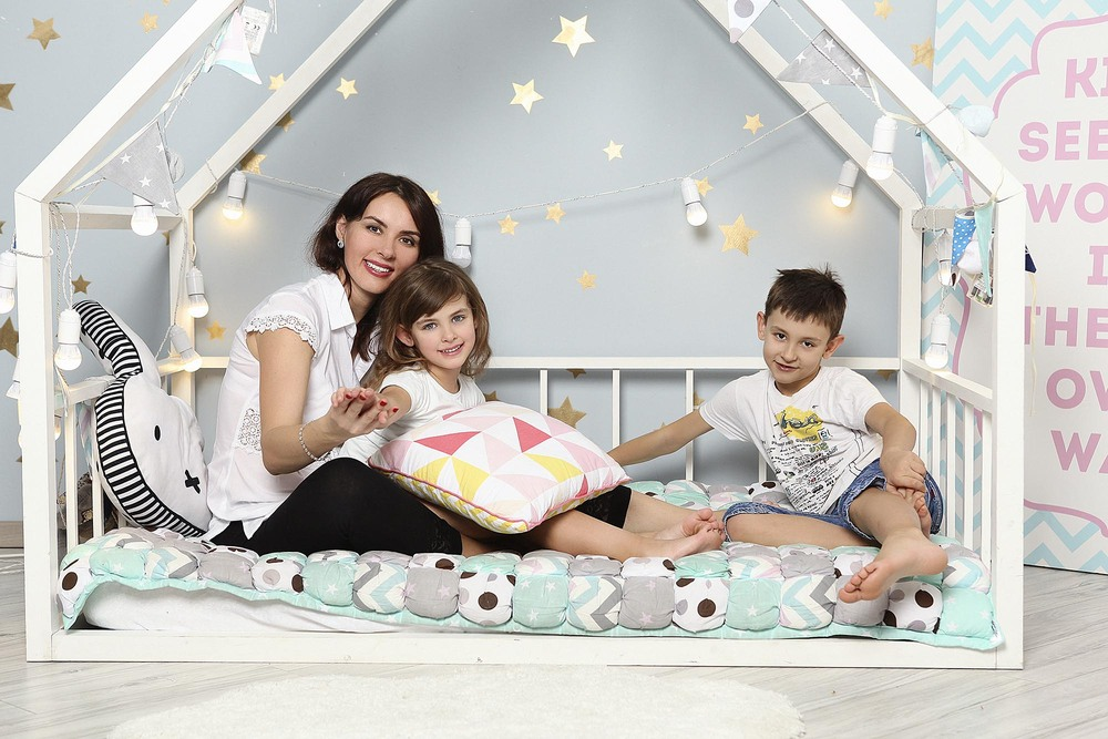 Александра, Вика и Саша