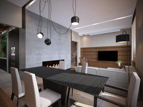 проект квартиры-столовая