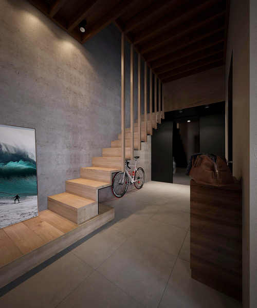concrete&wood