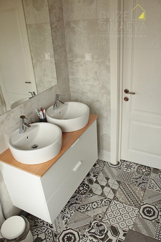 Дом в Блохино. Ванная комната/2017