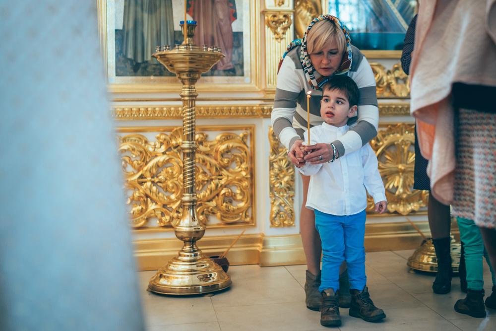 Таинство Крещения Леонида
