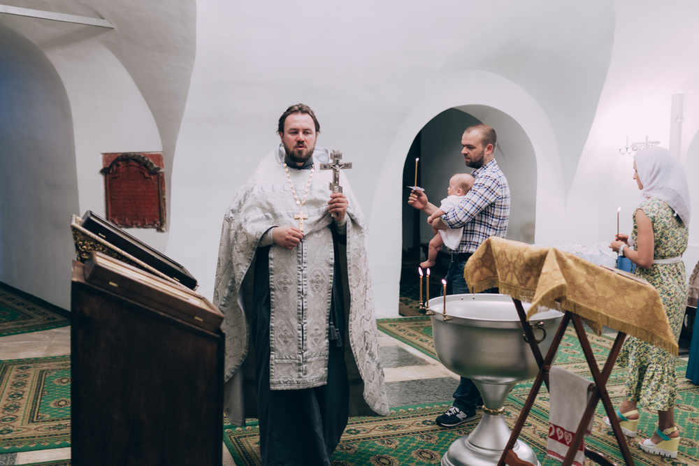 Таинство Крещения Ивана