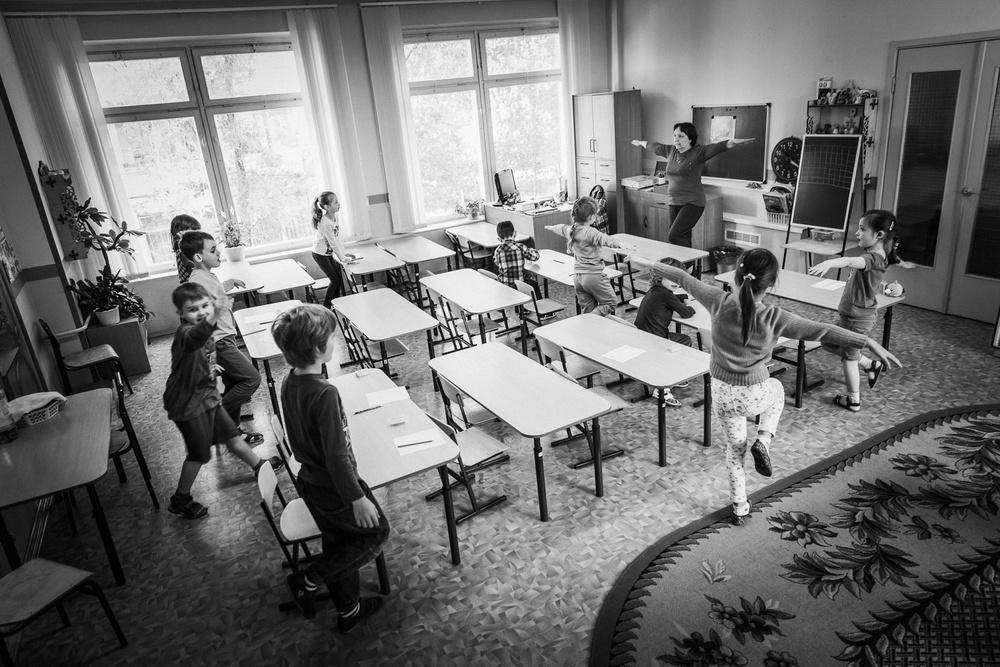 Детский сад. Репортаж из группы.