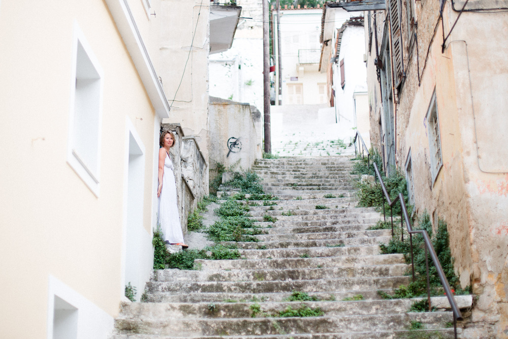Портрет. Женя. Июнь. Греция, Напфлион.