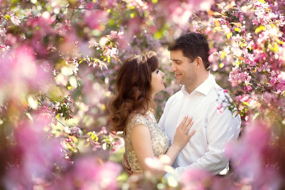 фотосессия, в цветущем, саду, москва, коломенское, фотограф, яблоневый, парк