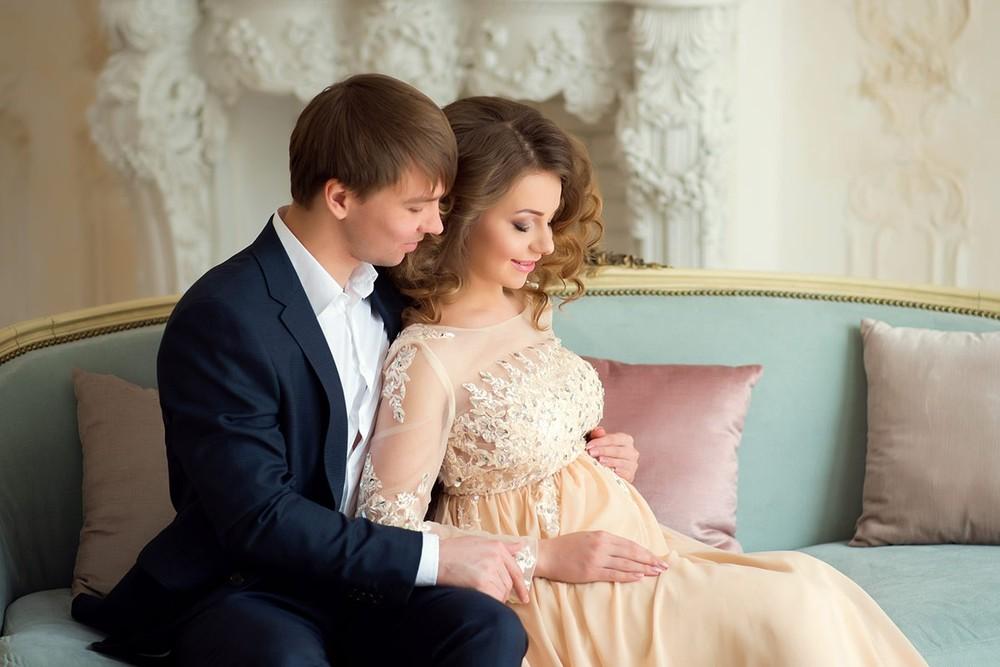 фотосессия беременности с мужем, аренда платья, красивые платья, фотограф москва