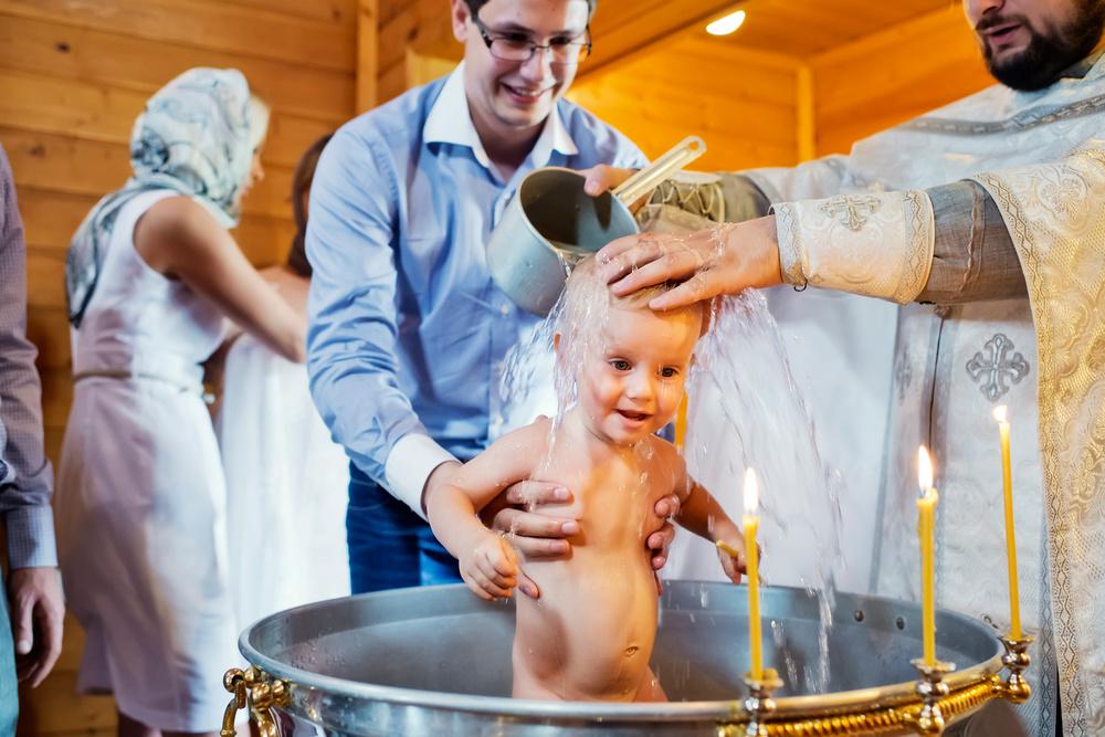 крещение в Храме Рождества Пресвятой Богородицы в Тарычево