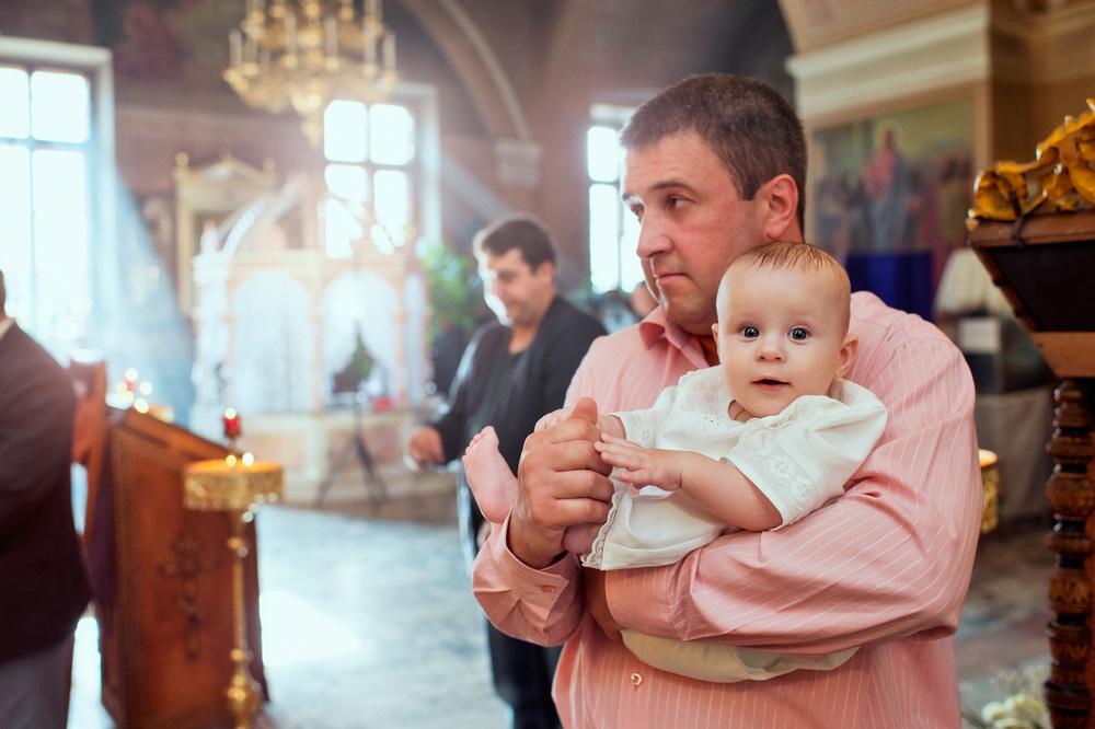 фотосессия крещения