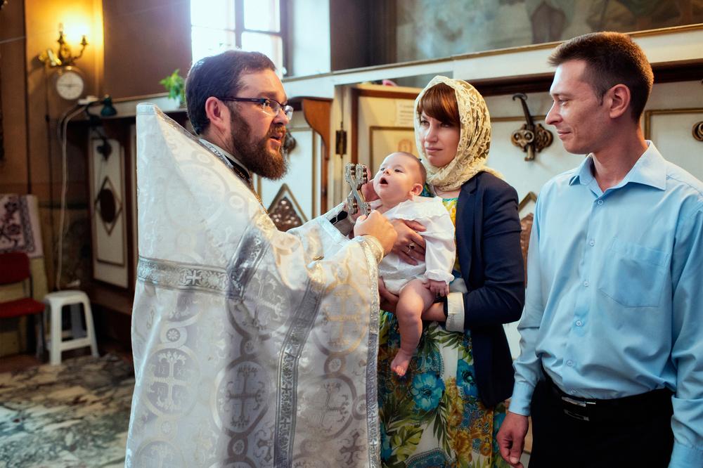 обряд крещения мальчика