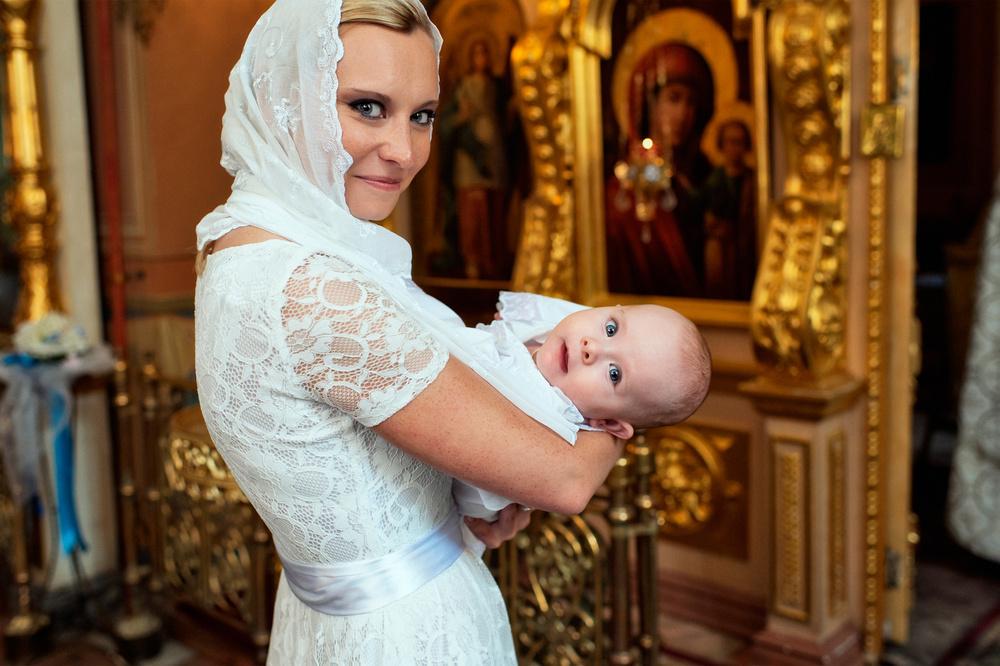 таинство крещения младенца