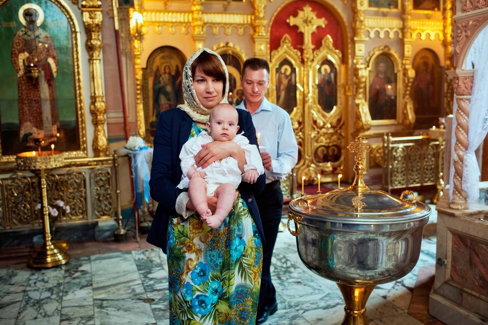 обряд крещения ребенка в православии