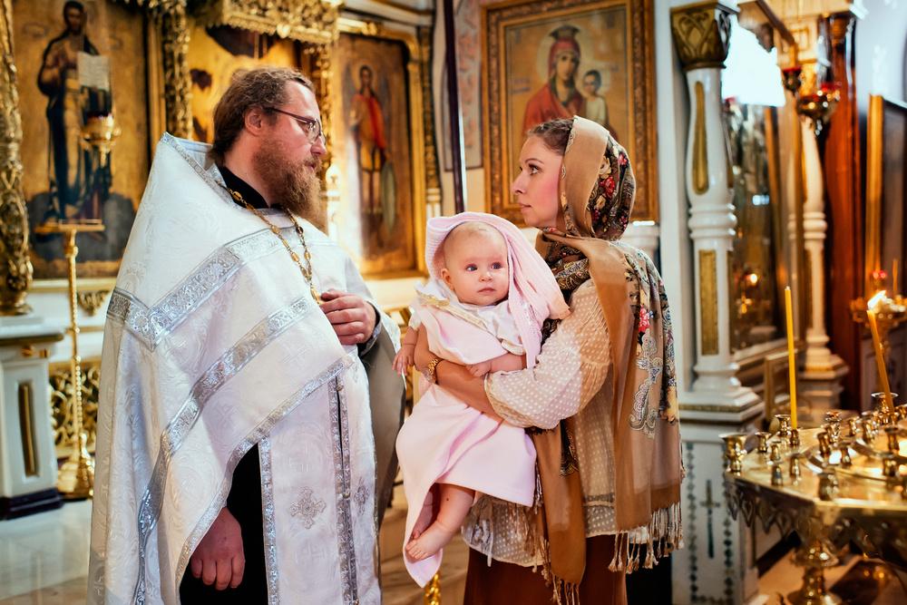 фотосъемка крещения ребенка советы