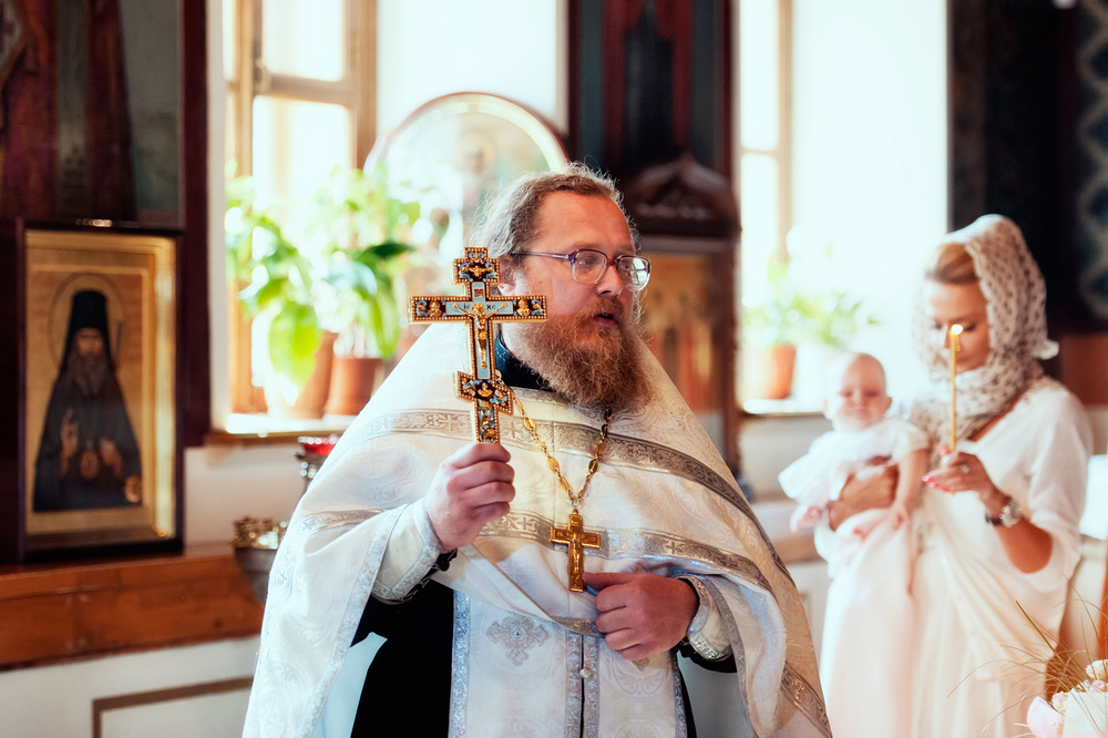 фотосессия крестины ребенка фото