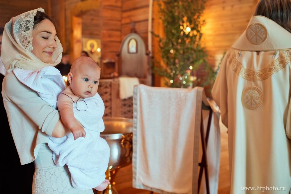 фотосессия крещения барвиха